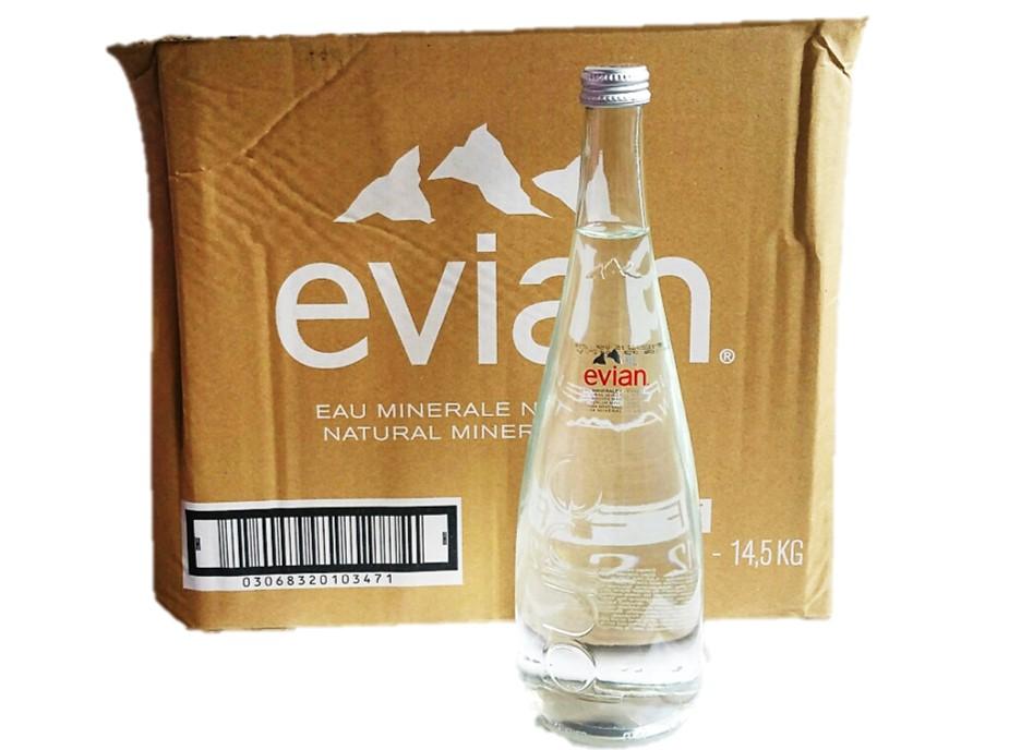 Le petit depot - Evian bouteille verre ...